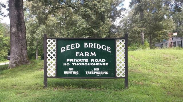 0 Reed Bridge Farm Road, King & Queen, VA 23023 (#1832860) :: Abbitt Realty Co.