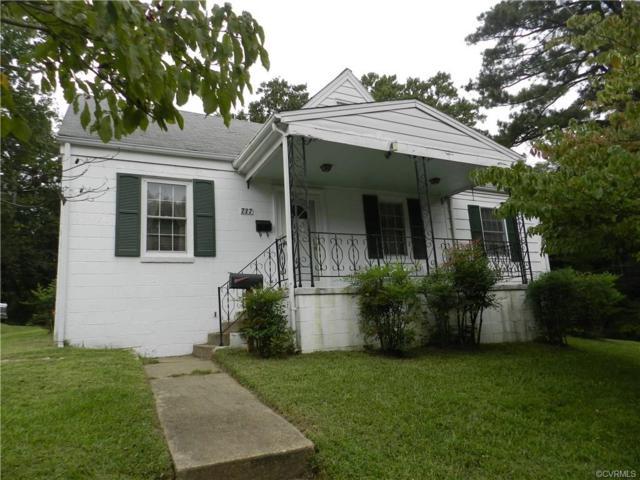 737 Jefferson Place, Petersburg, VA 23803 (MLS #1833857) :: Small & Associates