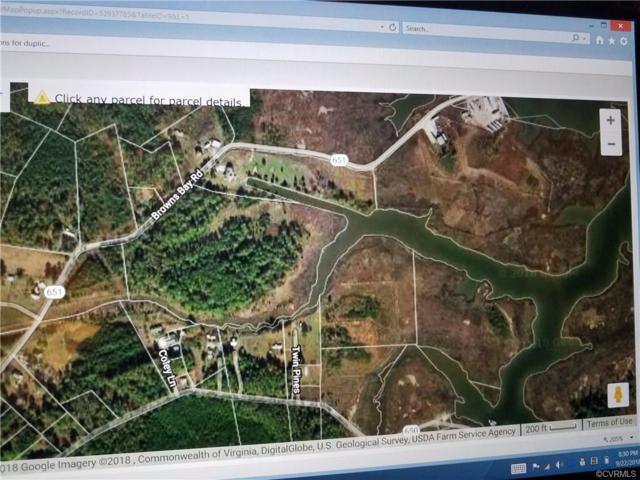 0000 E Browns Bay Road, Hayes, VA 23072 (MLS #1837320) :: Treehouse Realty VA