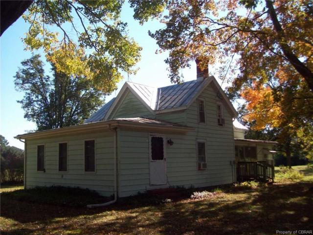 2166 Hallieford Road, Hallieford, VA 23068 (MLS #1838250) :: Chantel Ray Real Estate