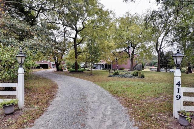 419 Bull Creek Drive, Lancaster, VA 22503 (#1838273) :: Abbitt Realty Co.