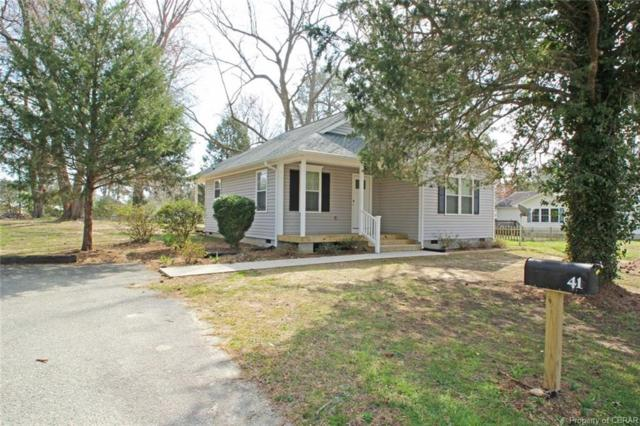 41 Noblett Lane, Lancaster, VA 22482 (MLS #1839328) :: Small & Associates