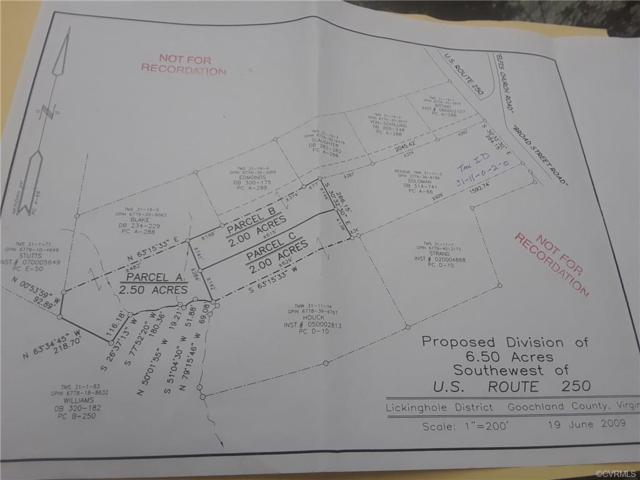 0 Broad Street Road, Goochland, VA 23102 (MLS #1839660) :: The RVA Group Realty