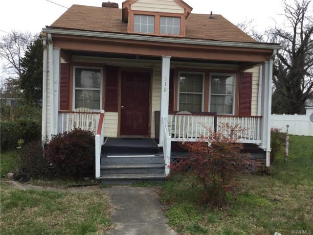 318 Hunt Avenue, Richmond, VA 23222 (MLS #1840902) :: EXIT First Realty