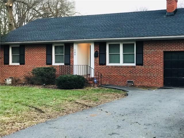 105 Beauregard Avenue, Sandston, VA 23075 (MLS #1901046) :: RE/MAX Action Real Estate