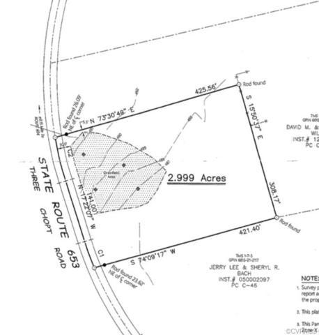 0 Three Chopt Road, Goochland, VA 23093 (MLS #1904538) :: HergGroup Richmond-Metro