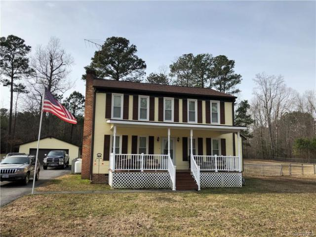 11604 Mark Twain Drive, Disputanta, VA 23805 (MLS #1904791) :: HergGroup Richmond-Metro