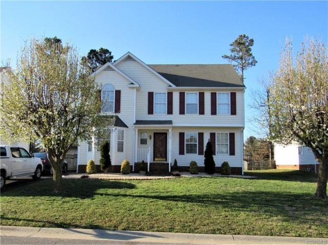 3920 Trickling Brook Drive, Henrico, VA 23228 (#1908467) :: 757 Realty & 804 Homes