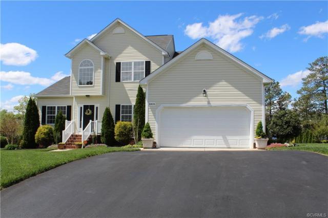 8426 Jordan Heights Lane, Dinwiddie, VA 23803 (#1912575) :: 757 Realty & 804 Homes