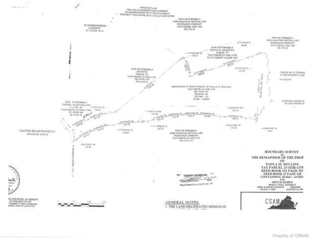 0 Tastine Road, Little Plymouth, VA 23091 (#1916012) :: Abbitt Realty Co.