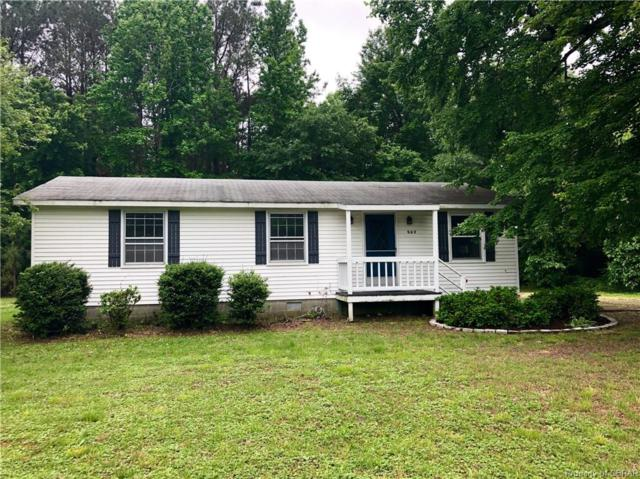 962 Ottoman Ferry Road, Lancaster, VA 22503 (MLS #1916130) :: EXIT First Realty