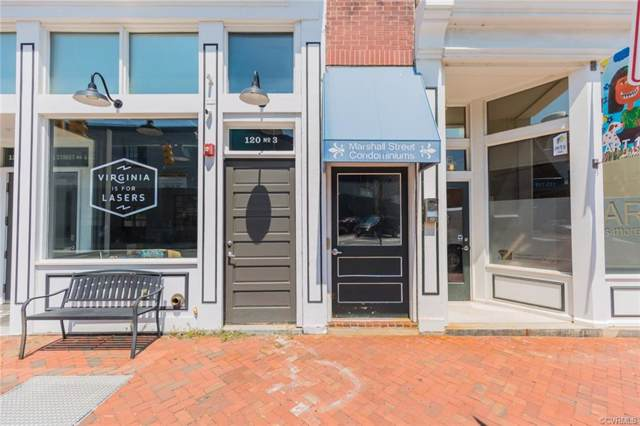 110 W Marshall Street #26, Richmond, VA 23220 (MLS #1926644) :: Small & Associates