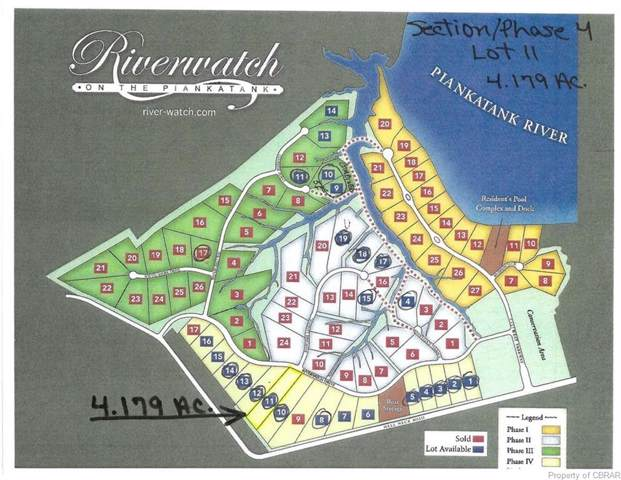 4.1AC Riverwatch Drive, Gloucester, VA 23061 (MLS #1926788) :: Blake and Ali Poore Team