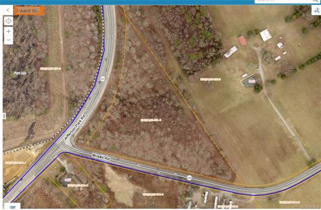 8.828 AC Jefferson Park/Middle, Prince George, VA 23875 (#1928180) :: Abbitt Realty Co.