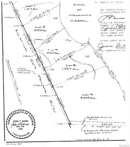 Lot 2 Mechams Creek Road, Middlesex, VA 23169 (MLS #1932455) :: EXIT First Realty