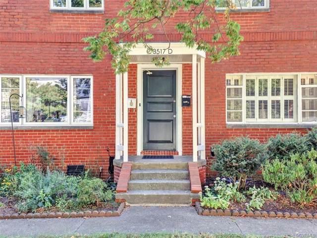3517 Hanover Avenue D, Richmond, VA 23221 (#1932471) :: Abbitt Realty Co.
