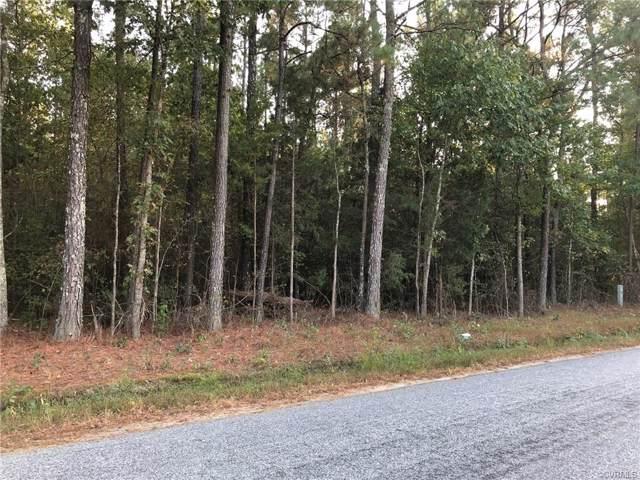 TBD Comans Well Road, Stony Creek, VA 23882 (MLS #1932865) :: Small & Associates