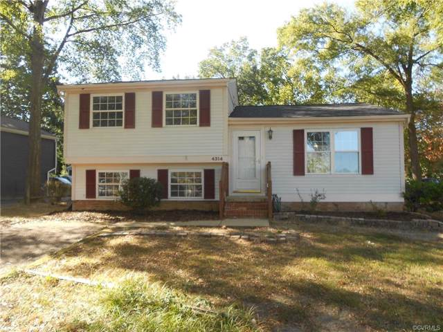 4314 Gladewater Road, Henrico, VA 23294 (MLS #1933627) :: EXIT First Realty