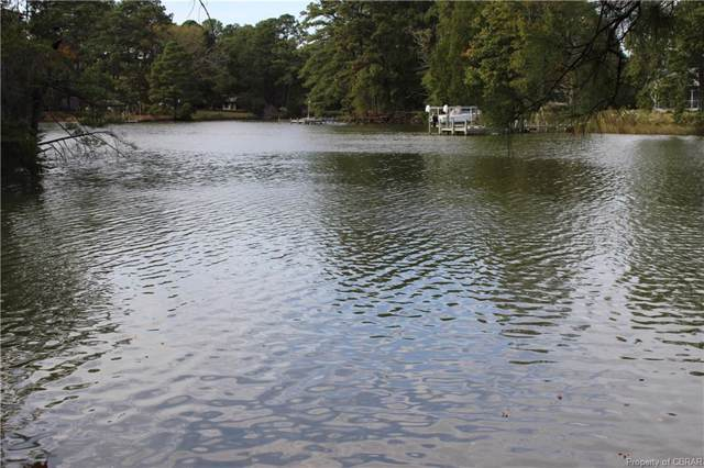 lot 1 Waterfront Lane, Mathews, VA 23109 (MLS #1933700) :: EXIT First Realty