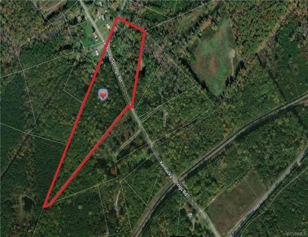 30-35 Kentucky Springs Rd, Mineral, VA 23117 (#1937982) :: Abbitt Realty Co.