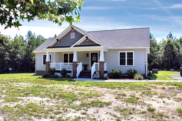 11325 Webb Road, Disputanta, VA 23842 (MLS #2002291) :: Village Concepts Realty Group