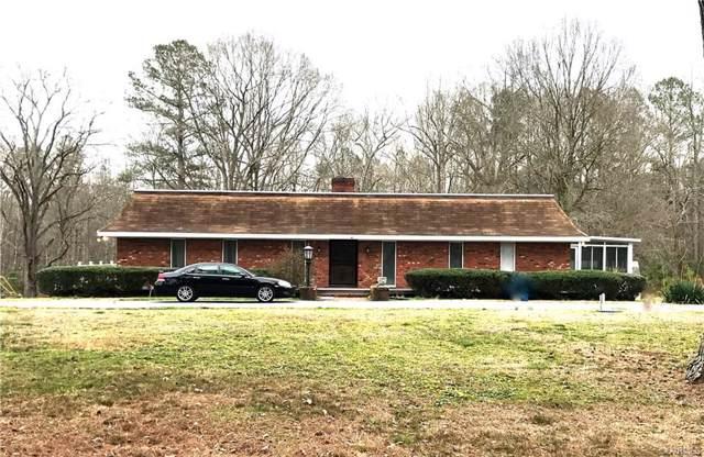 610 Ravenscroft Road, Prince George, VA 23805 (MLS #2003645) :: Small & Associates