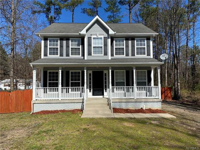 12101 Red Pine Road, Ruther Glen, VA 22546 (#2005177) :: Green Tree Realty