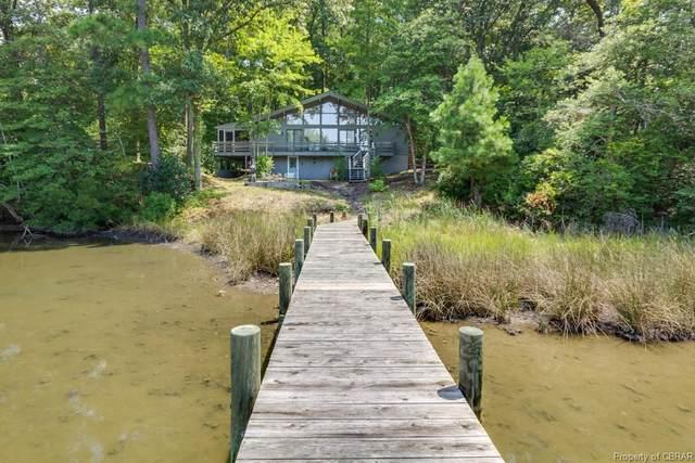 340 Porpoise Creek Road, Deltaville, VA 23043 (MLS #2005737) :: Small & Associates