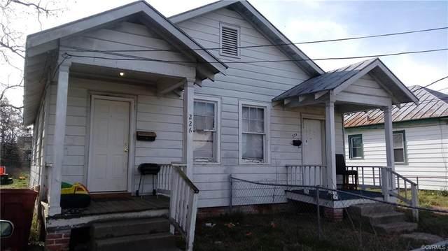 224 Elm Street, Petersburg, VA 23803 (MLS #2007157) :: EXIT First Realty