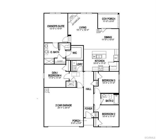 11901 Longtown Drive, Midlothian, VA 23112 (MLS #2009309) :: Small & Associates