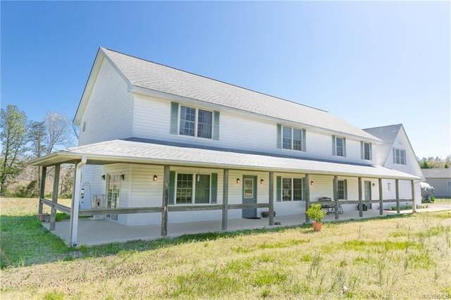 8145 Tate Road, Ruther Glen, VA 22546 (MLS #2010283) :: Treehouse Realty VA