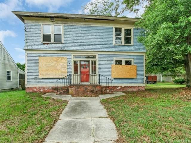 1814 Powhatan Avenue, Petersburg, VA 23805 (MLS #2014561) :: Small & Associates
