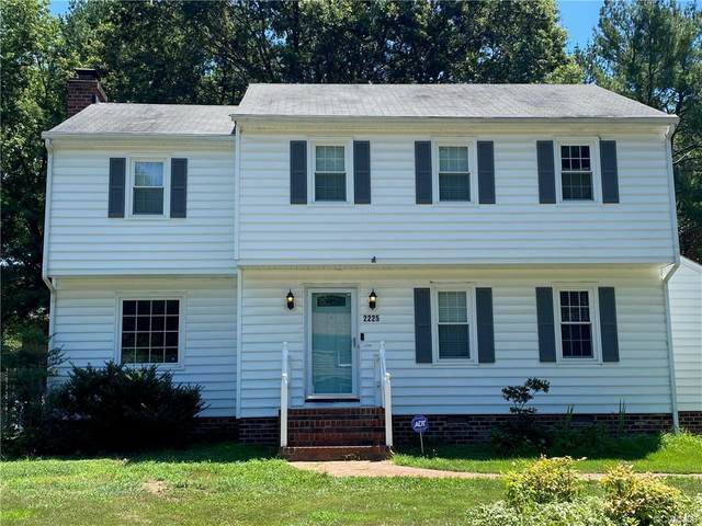 2225 Quarterstaff Road, Chesterfield, VA 23235 (MLS #2020988) :: EXIT First Realty