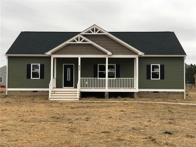 8872 Rock Cedar Road, New Kent, VA 23124 (MLS #2023691) :: EXIT First Realty