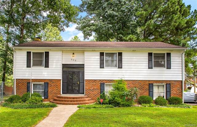 202 Windmere Drive, Colonial Heights, VA 23834 (MLS #2027992) :: The Redux Group