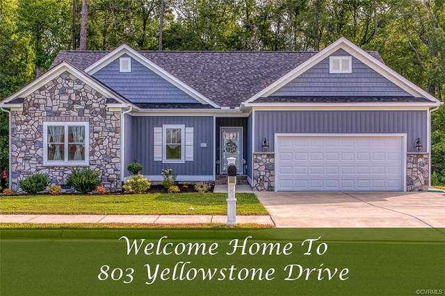 803 Yellowstone Drive, Hopewell, VA 23860 (MLS #2028091) :: The Redux Group