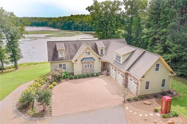 11250 Colemans Lake Road, Dinwiddie, VA 23850 (MLS #2028277) :: Treehouse Realty VA