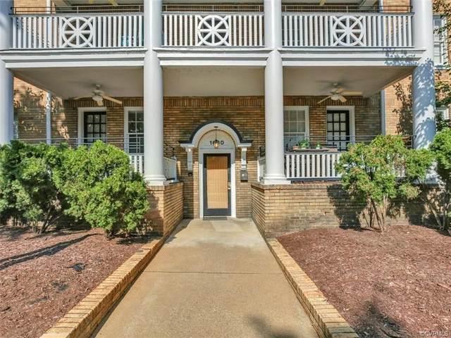 1630 Monument Avenue U8, Richmond, VA 23220 (MLS #2028478) :: Small & Associates