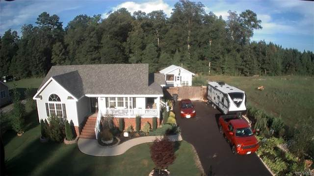 4018 Moss Point Drive, Dinwiddie, VA 23803 (MLS #2028694) :: Treehouse Realty VA