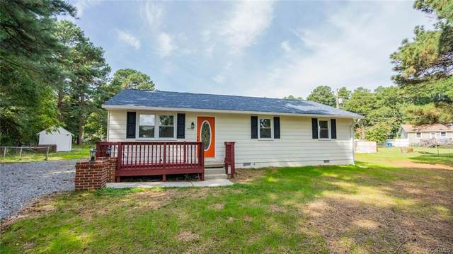 4400 Morning Hill Drive, Disputanta, VA 23842 (MLS #2028727) :: Treehouse Realty VA