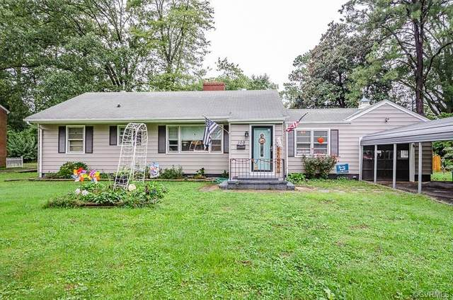 109 Early Avenue, Sandston, VA 23150 (MLS #2028812) :: EXIT First Realty