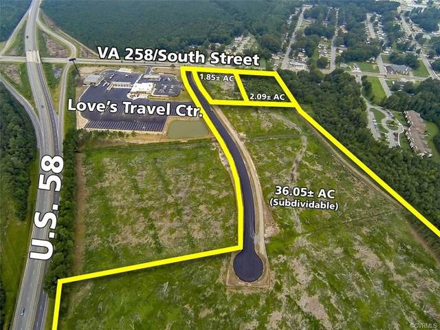 0 South Street, Franklin, VA 23851 (MLS #2029045) :: Treehouse Realty VA