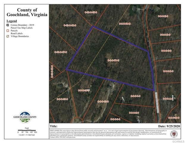 0 Halls Road, Mineral, VA 23117 (MLS #2029321) :: Keeton & Co Real Estate