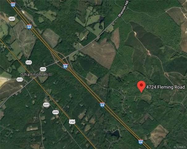 4724 Fleming Road, Louisa, VA 23093 (MLS #2029378) :: Keeton & Co Real Estate