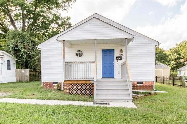 706 N 9th Avenue, Hopewell, VA 23860 (MLS #2029592) :: Treehouse Realty VA