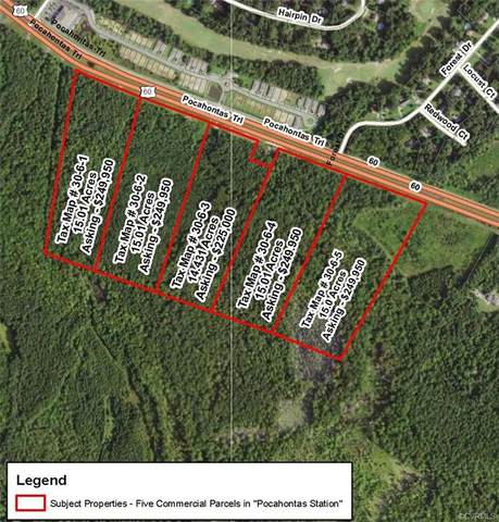0000 Pocahontas Trail, Quinton, VA 23141 (MLS #2030003) :: The Redux Group