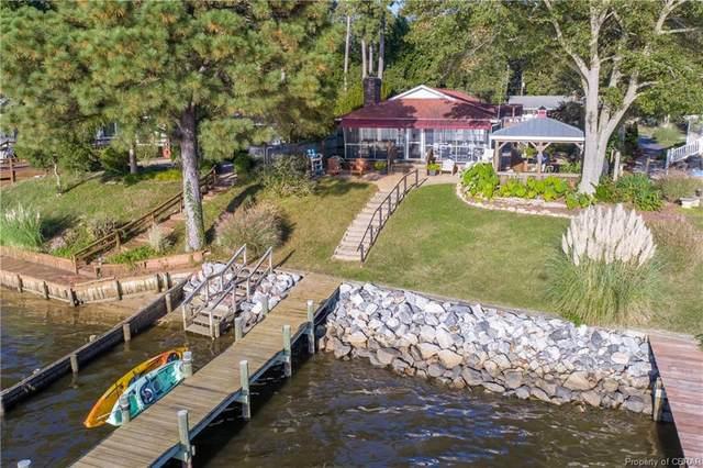 316 Shore Drive, Hartfield, VA 23071 (MLS #2031568) :: Treehouse Realty VA
