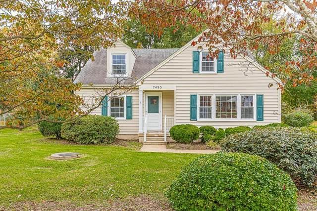 7495 Cold Harbor Road, Mechanicsville, VA 23111 (MLS #2032802) :: Small & Associates