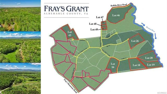 16 Frays Ridge Crossing, Earleysville, VA 23220 (MLS #2033959) :: The Redux Group