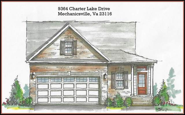 9364 Charter Lake Drive, Mechanicsville, VA 23116 (MLS #2035019) :: Village Concepts Realty Group